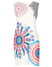 Izabel colourful shift dress