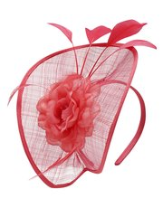 Flower disc fascinator