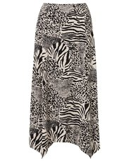 TIGI animal print skirt