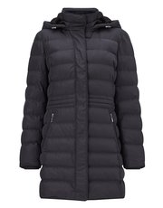 Precis Petite Ana quilted hooded coat