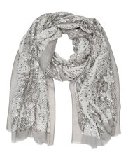 Italian Collection snake print scarf