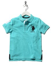 US Polo Assn. logo polo shirt