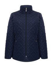 TIGI quilted jacket with stand-up collar
