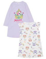 Unicorn nightdress two pack