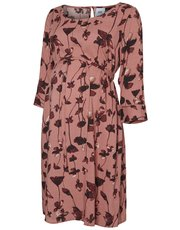 Mamalicious nursing floral print dress