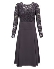 Jacques Vert lace 2 in 1 wrap dress