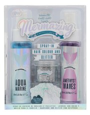 NPW mermaid spray-in hair colour and glitter