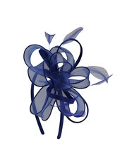 Flower loop fascinator