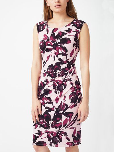 Precis Petite shadow floral dress