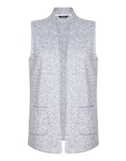 TIGI sleeveless cardigan