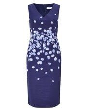 Jacques Vert petal placement print dress