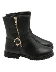 Buckle My Shoe biker boot