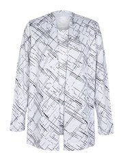TIGI open front textured cardigan