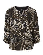 TIGI tribal print top