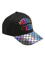 Mermaid slogan cap