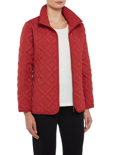 TIGI diamond quilted jacket