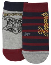 Harry Potter trainer socks two pack