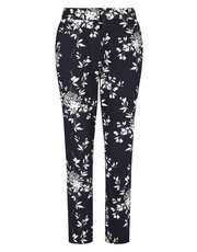 Precis Petite shadow leaf trousers