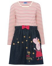 Peppa Pig stripe dress