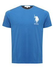 U.S. Polo Assn logo crew neck t-shirt