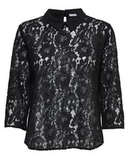 JDY Lace peter pan collar shirt