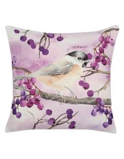Military Wives Choirs bird print cushion