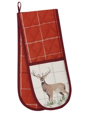 Wild deer double oven glove