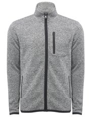 Zip front fleece