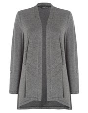 TIGI edge to edge panel detail cardigan