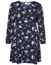 Junarose floral wrap dress