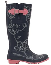 Brakeburn tulip wellington boot