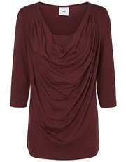 Mamalicious nursing cowl neck top