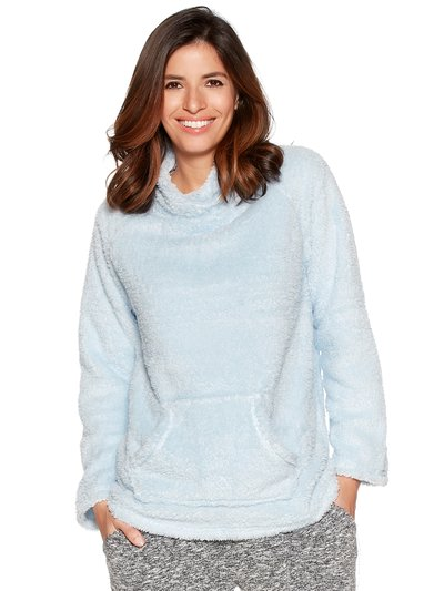 Borg fleece loungewear top