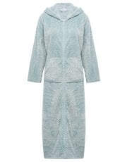 Shimmer fleece zip robe