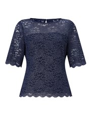 Precis Petite foiled lace top