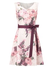 Jacques Vert petite floral burnout dress
