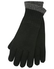 Heat Holders contrast trim gloves