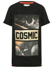 Cosmic space print t-shirt