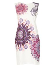 Izabel mosaic print shift dress