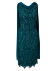 Jacques Vert lace and cap dress