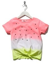 Watermelon tie front t-shirt