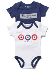 Ben Sherman bodysuits two pack