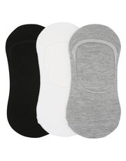 Invisible trainer socks three pack