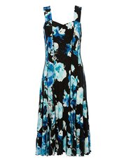 Roman Originals floral print panel dress