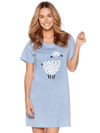 Sheep print nightdress