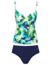 Naturana underwired tankini set