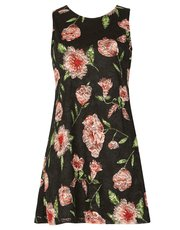 Izabel floral overlay swing dress