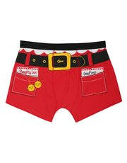 Christmas Santa boxer briefs