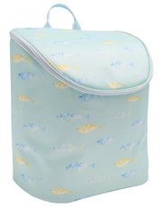 Fish print cool bag back pack