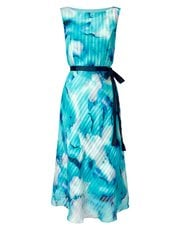 Jacques Vert printed stripe prom dress